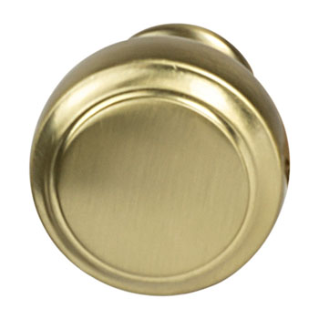 Hafele Amerock Highland Ridge Collection Round Knob, Gold Champagne, 30mm Diameter