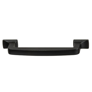 Hafele Amerock Westerly Collection Handle, Black Bronze, 129mm W x 14mm D x 33mm H, 128mm Center to Center