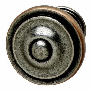 Pewter & Copper Knob