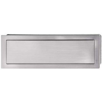 Hafele Bella Italiana Collection Handle in Brushed Nickel, 155mm W x 16mm D x 56mm H