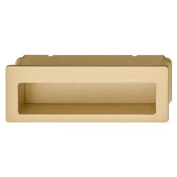 Hafele 105.5mm (4-1/8'' W) Satin/Brushed Brass