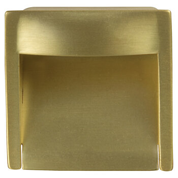 Hafele 45mm (1-3/4'' W) Satin/Brushed Brass