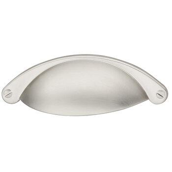 Hafele 104mm (4-1/8'' W) Satin/Brushed Nickel