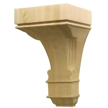 Hafele Regency Collection Hand Carved Corbel Traditional 9'' H