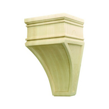 Hafele Arcadian Collection Hand Carved Corbel, 9'' H