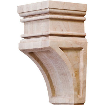 Hafele Arcadian Collection Hand Carved Corbel, 6'' H