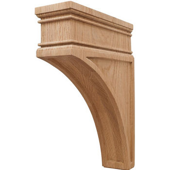 Hafele Arcadian Collection Hand Carved Corbel, 12'' H