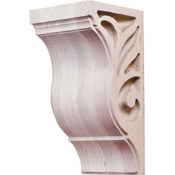 "Hafele Lafayette Collection Corbel, Maple, 2-7/8""W x 3""D x 6""H"