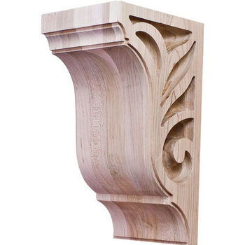 "Hafele Lafayette Collection Corbel, Maple, 4-1/4""W x 5""D x 9""H"