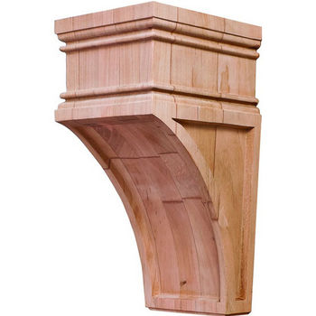 "Hafele Arcadian Collection Corbel, Cherry, 4-1/4""W x 5""D x 9""H"