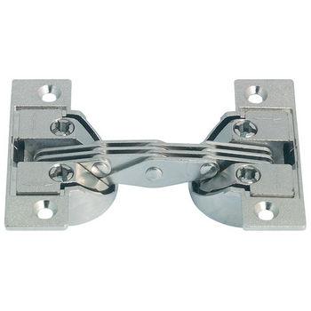Hafele 90° Miter Flap Hinge in Nickel Plated, 1.5mm (1/20'') W