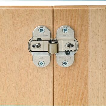 Hafele Aximat® Institutional 270° Folding Door Hinge in Nickel