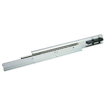 Accuride 3600-201, Full Extension Ball Bearing Top/bottom Mounted Drawer Slide 22'' with 2-1/2'' Self Close