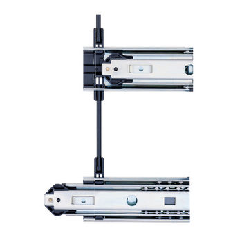 Accuride 1'' Overtravel Side Mounted Drawer Slide with