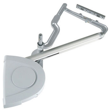 Hafele Lift-Up Fitting - Verso, Soft & Silent Closing, Silver