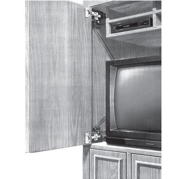 Hafele Pocket Door System - XL Slide, Steel, Black