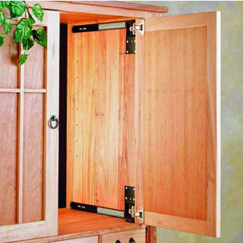 Hafele Pocket Door System - Accuride CB1234, Steel, Black