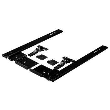 Hafele Pocket Door System - Accuride 123 with 35mm hinges, Steel, Black