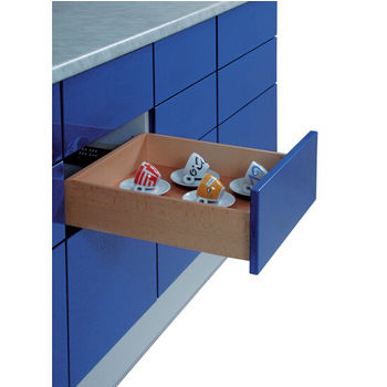 Sliding Hardware For Drawers And Pull Outs And Electronic