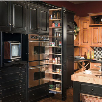 Hafele Pantry Pull-Out Systems | KitchenSource.com