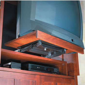 Tv And Electronic Shelf Slides Glides