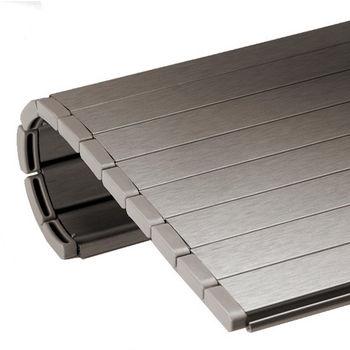 Merveilleux Hafele Aluminum Roller Shutters   Milano Appliance Garage Kit, Brushed  Aluminum