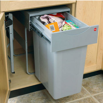Hafele Trash Cans And Recycle Bins Kitchensource Com