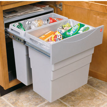 Easy Cargo 50 Pull-Out Waste Bin - 13 Gallon