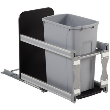 Single Undermount Soft Close Waste Bin