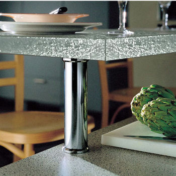 Countertop Bar Support for Glass Tops