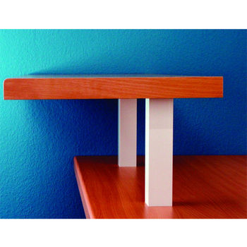 Countertop Support Options : Raised Countertop Bar Supports for Glass Tops - Made out of Steel with ...