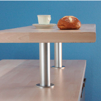 Hafele Raised Breakfast Bar Support For Solid Tops 9 1 16 H
