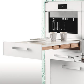 Pull Out Kitchen Tables Hafele pull out table systems kitchensource hafele rapid pull out kitchen table white min cab opening 22 18 x 19 14 d x 4 34 h workwithnaturefo