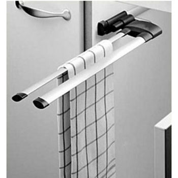 Hafele 2 Oval Bar Towel Rack