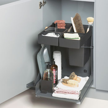 Hafele Kitchen Tower Base Unit Soft Close Pull-Out