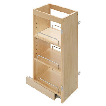 kitchen organizers maple upper wall cabinet pull out organizer by