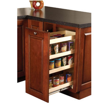 kitchen wood base cabinet pull out organizer by hafele kitchensource