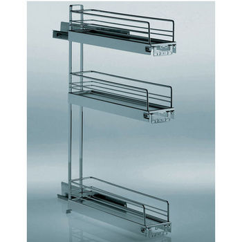 3-Tier Base Cabinet Pull-Out