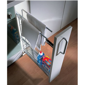 Base Pull-Out with Towel Rail