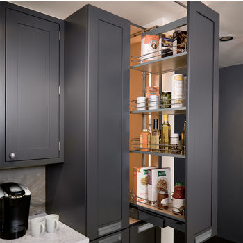 Pantry Pullout Shelves And Baskets: View And Reach Items In The Back Of  Your Pantry | KitchenSource.com