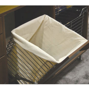 hafele tilt out laundry hamper for vanity or closet. Black Bedroom Furniture Sets. Home Design Ideas