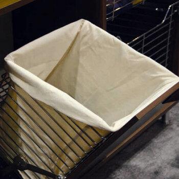 Hafele tilt out laundry hamper for vanity or closet - Tilt laundry hamper ...
