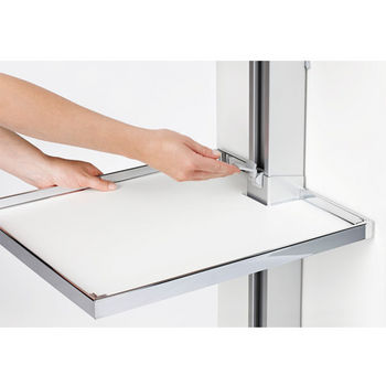 Hafele LAVIDO Pantry Pull-Out, with Soft-Open Soft-Close