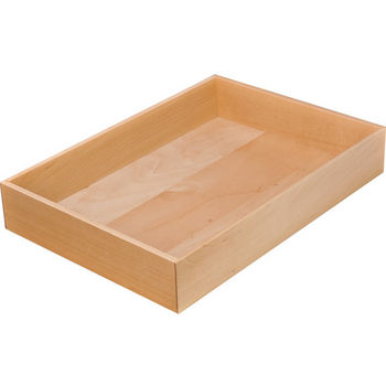 "Hafele ""Fineline"" Move Kitchen Cutlery Box 2, Birch, 8-5/16""W x 11-13/16""D x 1-15/16""H"