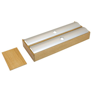 "Hafele ""Fineline"" Roll Holder, White Oak, 5-7/16""W x 16-11/16""D x 1-7/9""H"