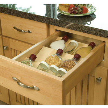 Spice Tray Drawer Insert