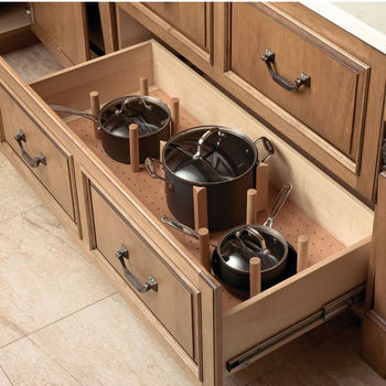 Hafele 40 W X 21 D Kitchenware Plate Organizer Base For Deep And Shallow Drawers