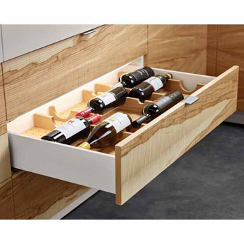Hafele Fineline Wine Storage Rack