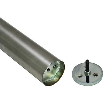 Hafele Anchoring Foot, For Table Legs, Stainless Steel