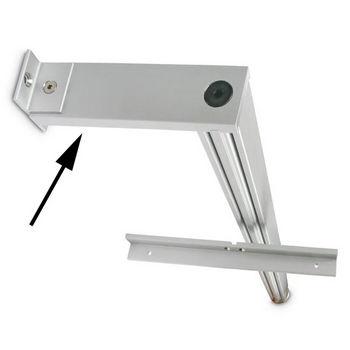 Hafele 21C Sta-Pole System Top Tie Bar, Aluminum Matt
